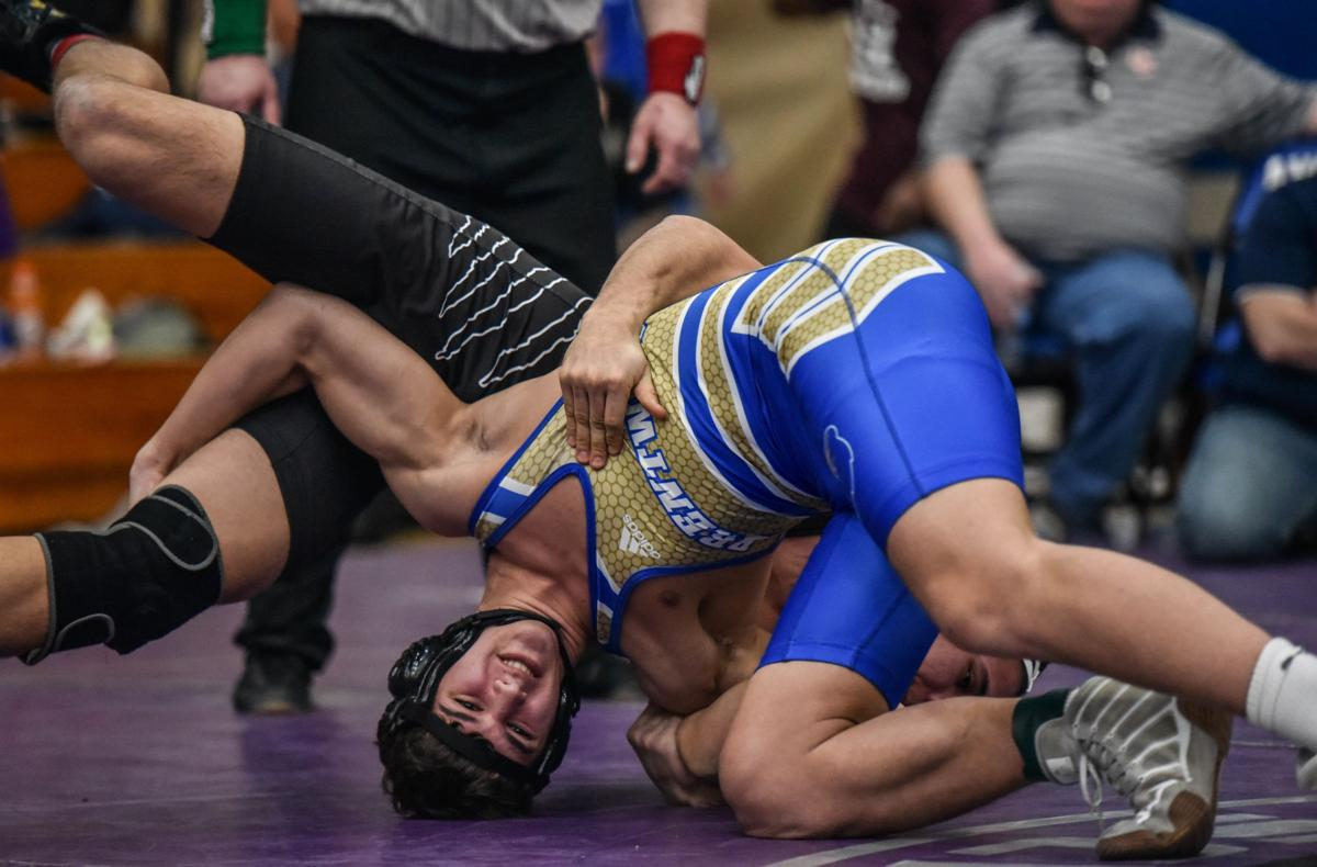 Region 7-AAA Wrestling – Consolation, Semifinals