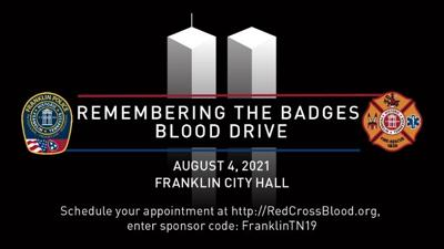 Remembering the Badges Blood Drive