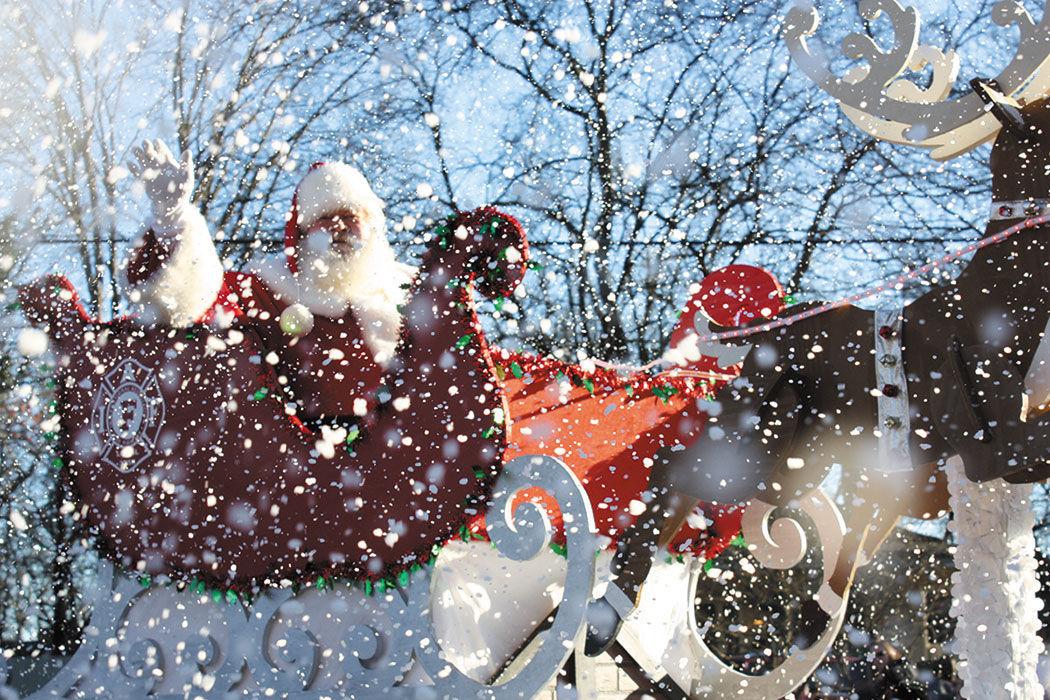 franklin christmas parade - How To Decorate A Christmas Parade Float