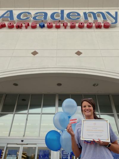 Megan Lechner Page High Special Ed Teacher Award