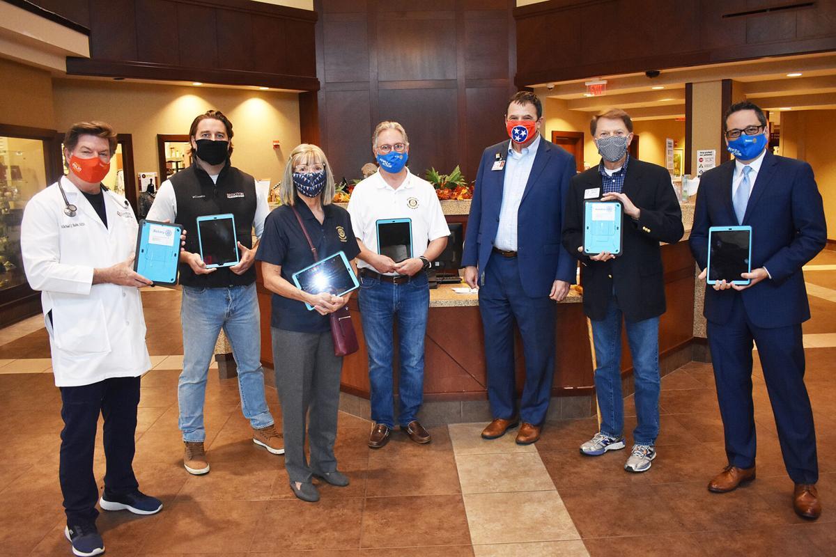 Local Rotary Clubs donate iPads to WMC