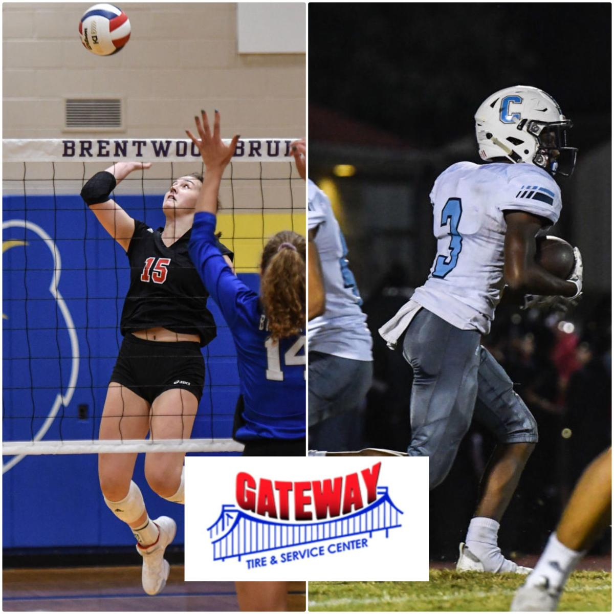 Gateway Tire Athletes of the Week