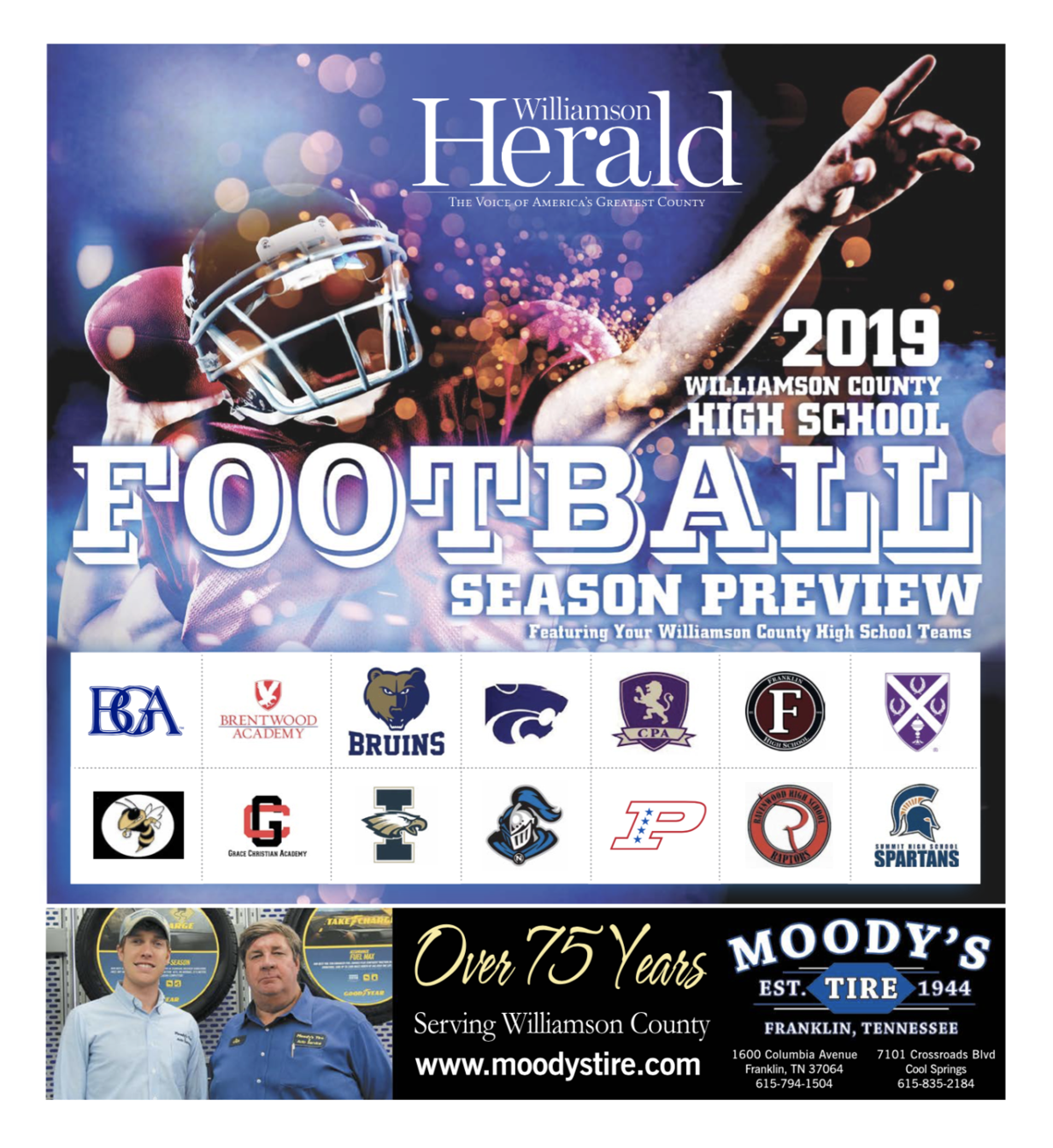 2019 High School Football Media Guide