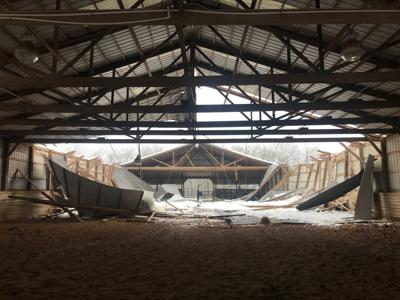 Pat Dunn indoor arena collapse