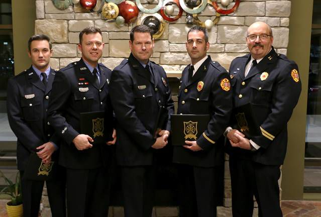 Franklin Fire Department Hands Out Honors At Awards