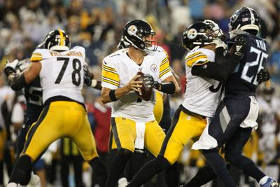 NFL – Pittsburg Steelers at Tennessee Titans