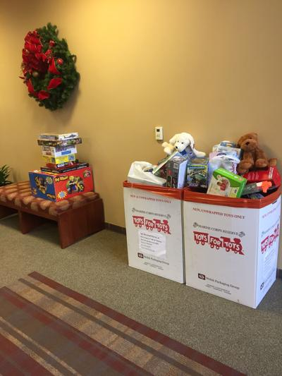 Brentwood Fire & Rescue Toys for Tots program
