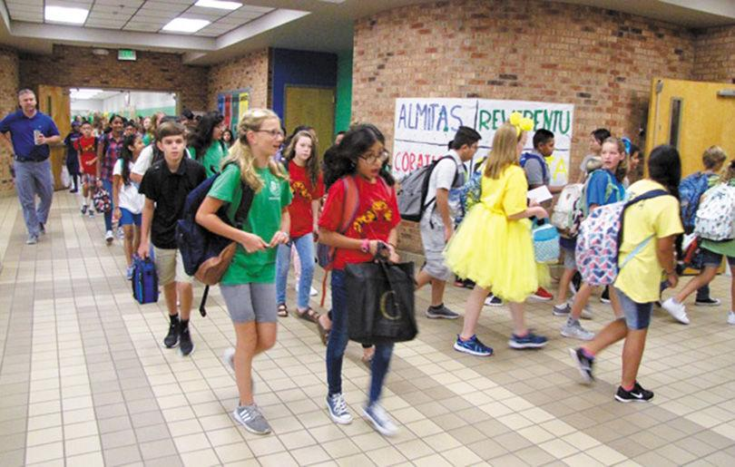 Students Are Ready To Get Back As Schools Open Across County
