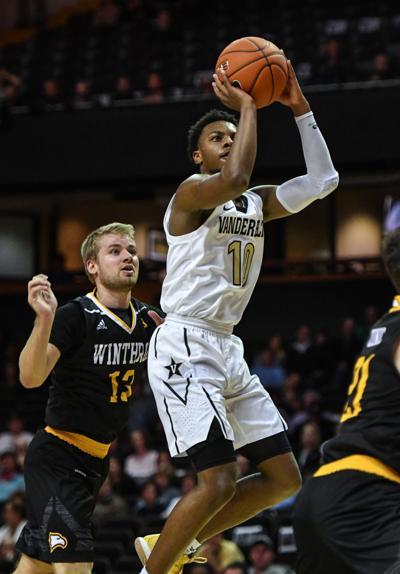 College Hoops – Winthrop at Vanderbilt