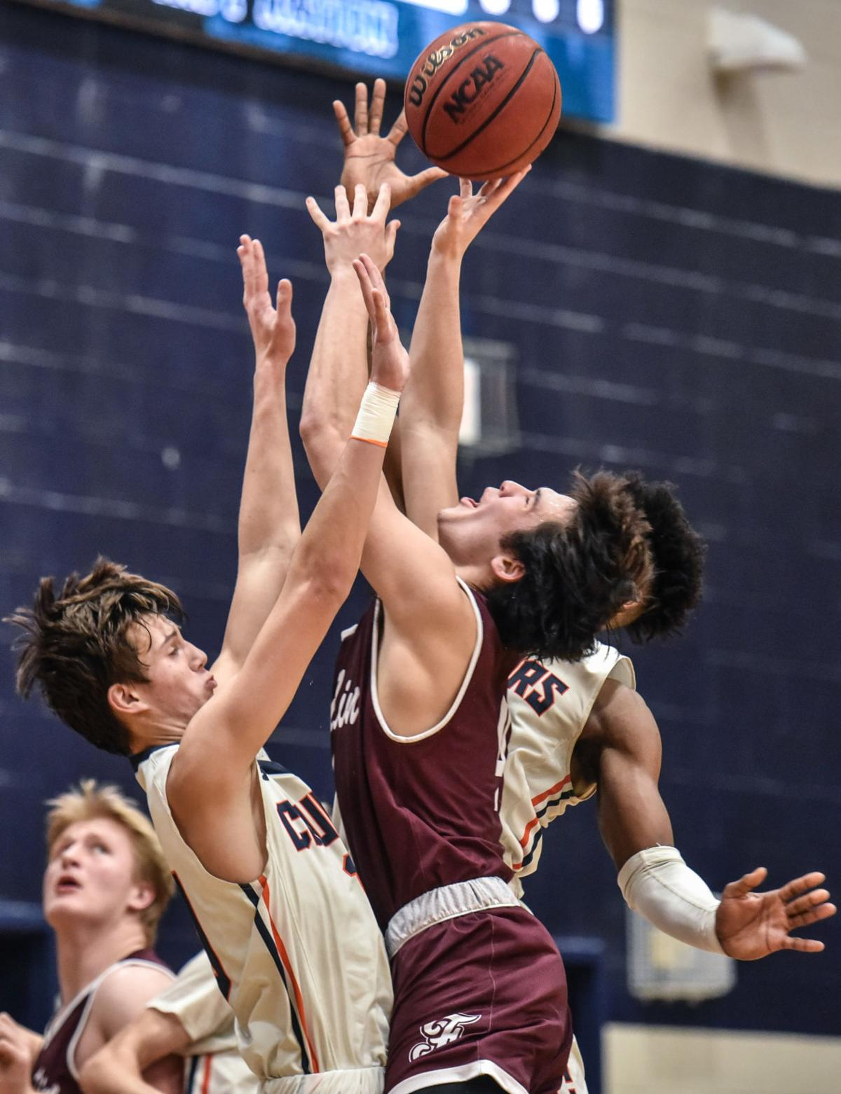 Hoops – Franklin boys vs. Dickson County, District 11-AAA Championship