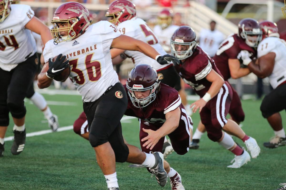 Football - Riverdale at Franklin - Week Two