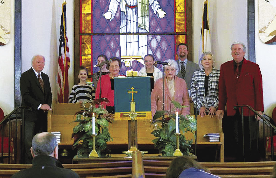Members of the Franklin Cumberland Presbyterian Church Choir