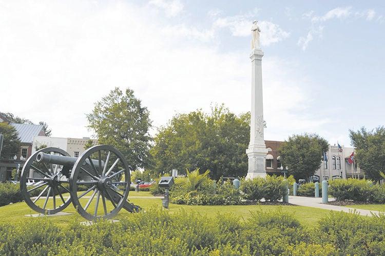 Franklin Square Confederate Monument