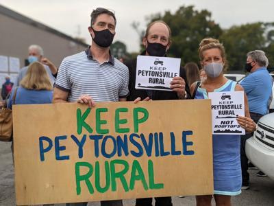 Keep Peytonsville Rural sign