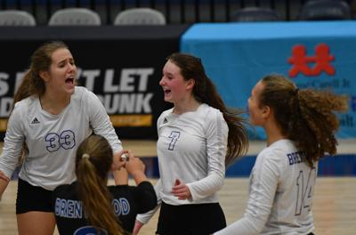 State Volleyball– Collierville vs. Brentwood .