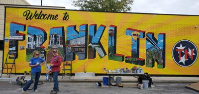 Welcome to Franklin mural