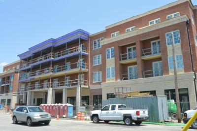 Harpeth Hotel under construction