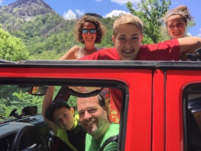 Matt Brown and family