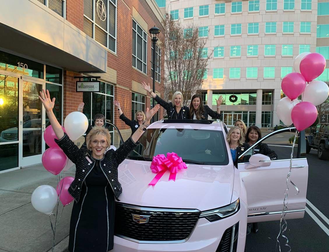 Williamson Inc Member Earns Pink Cadillac For Mary Kay Salesmanship Communities Williamsonherald Com