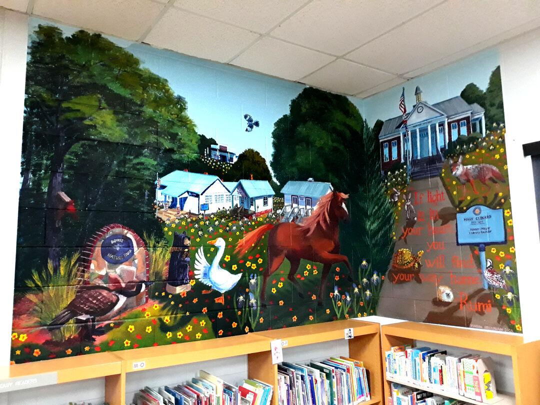 Library Murals