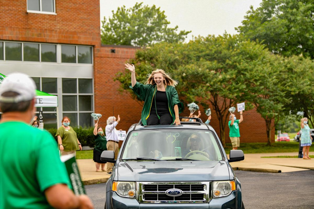 Columbia State Community College drive-through parade