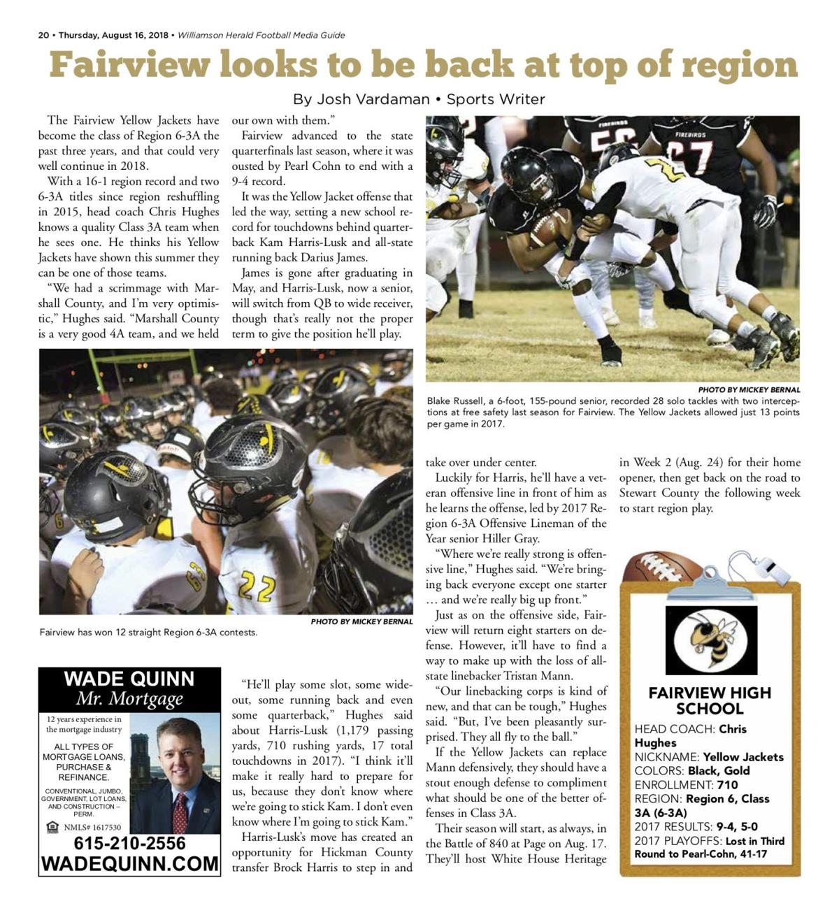 Media Guide Preview - Fairview
