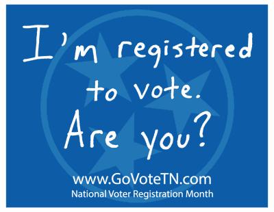 National Voter Registration Month