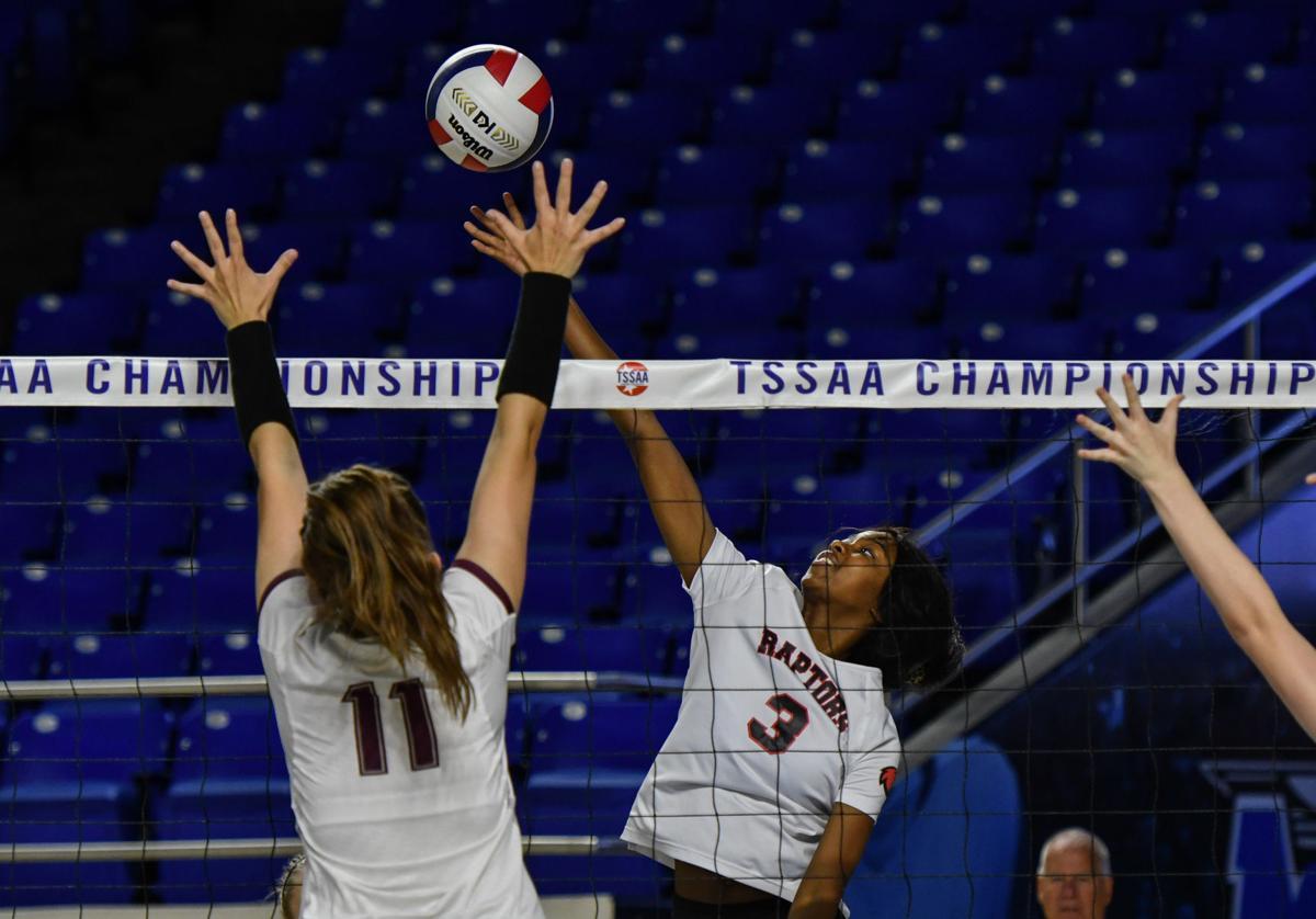 State Volleyball– Ravenwood vs. Dobyns Bennett, Round 1