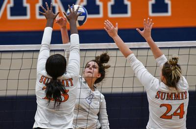 Volleyball – Brentwood at Summit