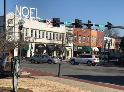 Downtown Franklin 2020