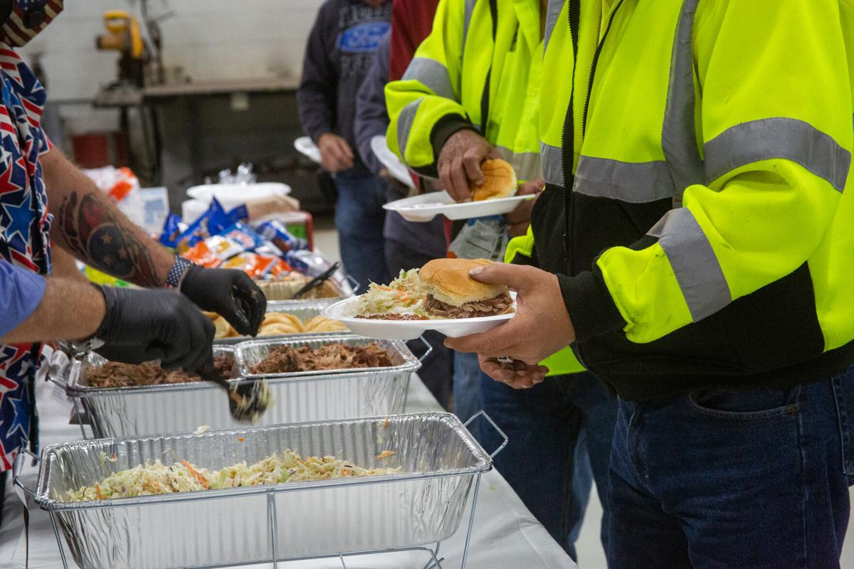 Williamson County Commissioners Williamson County Highway Department  BBQ lunch 2021 2