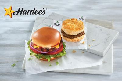 Beyond Meat Biscuit Hardee's