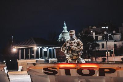 Tennessee National Guard Washington D.C. 2021 Joe Biden inauguration