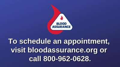 Blood Assurance promo