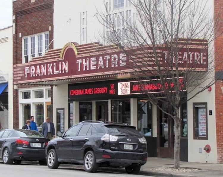 The Franklin Theatre. Williamson Homepage file photo.