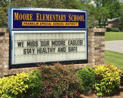 Moore Elem sign