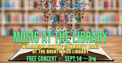 Music at the Library graphic