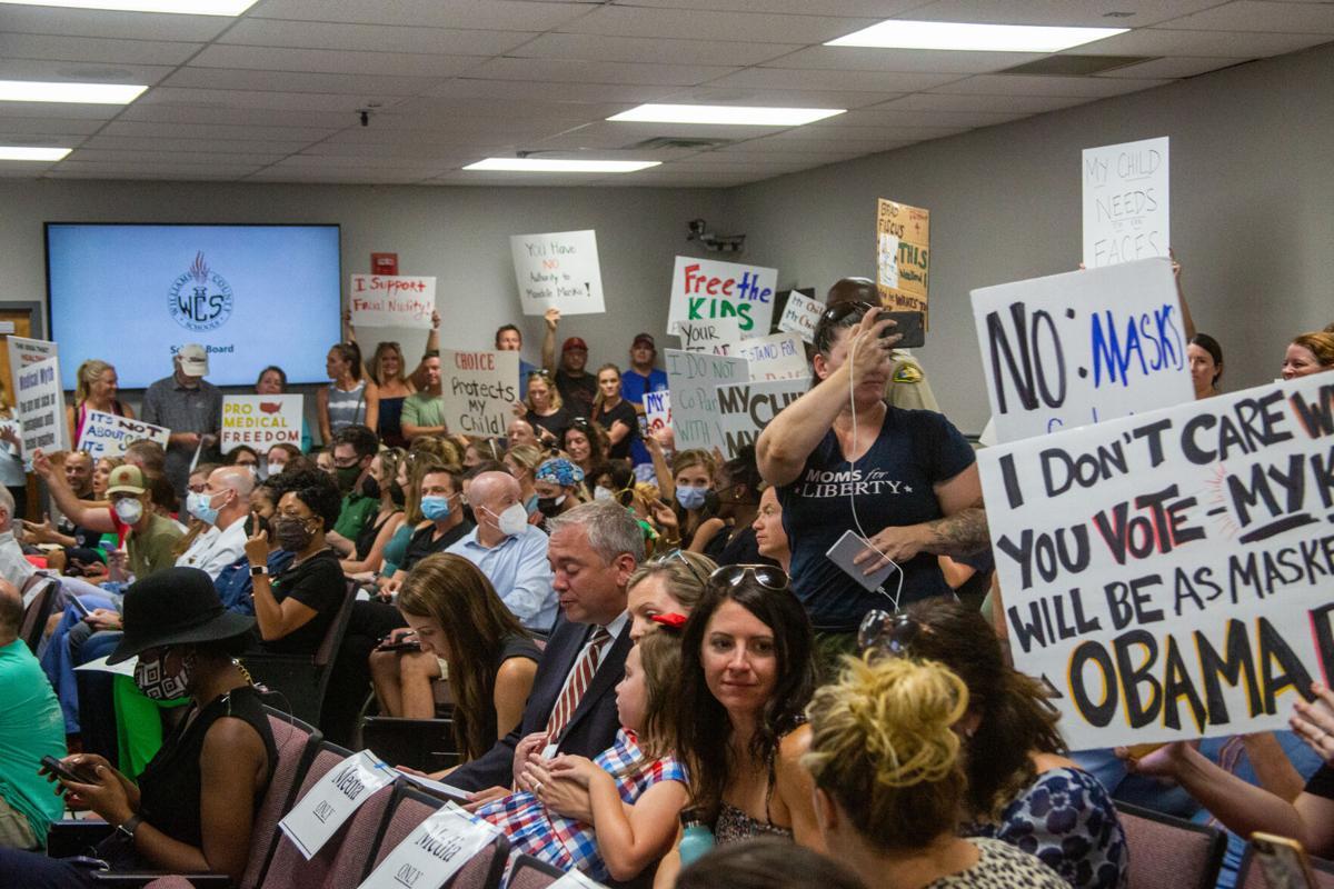 WCS school board crowd