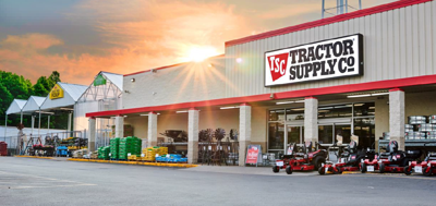 tractor supply sunset