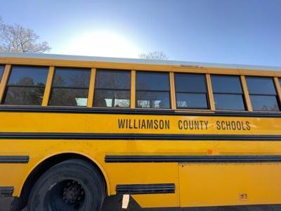 WCS bus with sun