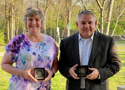 FPD retired Detective Becky Porter and Detective Sergio Guerra