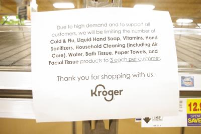 Brentwood Kroger Sign