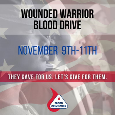 Blood Assurance Wounded Warrior
