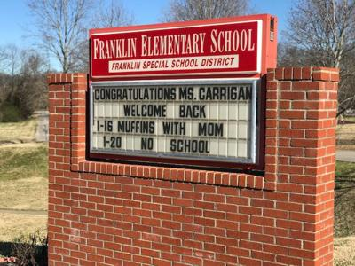 Franklin Elementary sign