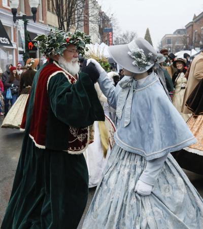Dancing at Dickens