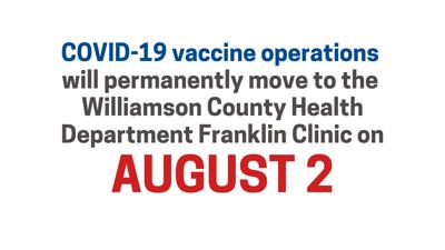 August 2 Final Vaccine Location Change