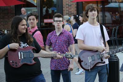 School of Rock students
