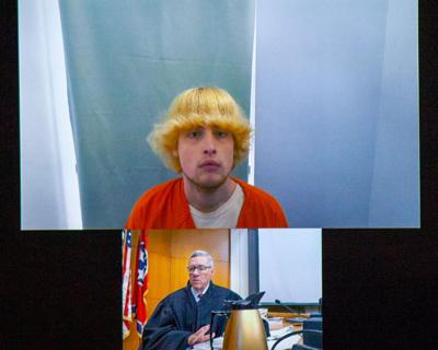 Tyler Pierce Williamson County Jail court mug