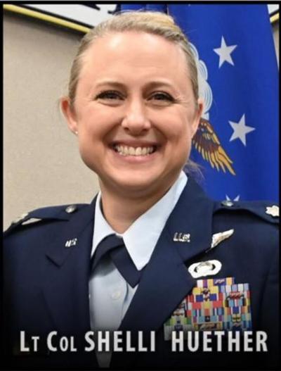 Lt. Col. Shelli Huether portrait