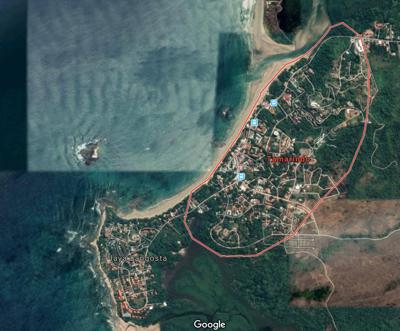 Tamarindo, Costa Rica satellite image